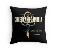 coheed and cambria north america tour 2016 Throw Pillow