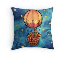 Starry, Starry Flight Throw Pillow