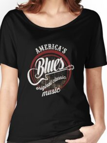 life & music t-shirt, Blue of music Women's Relaxed Fit T-Shirt
