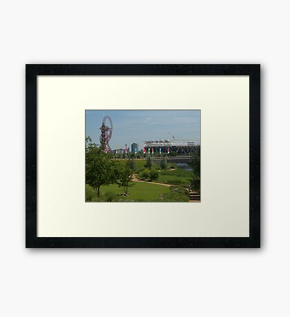 Queen Elizabeth Park in the Summer Framed Print
