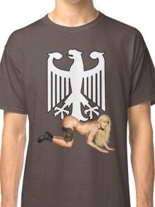 German Army Pin Up Classic T-Shirt