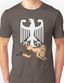 German Army Pin Up Unisex T-Shirt