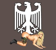 German Army Pin Up Unisex T-Shirt