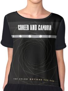 new coheed and cambria the color before the sun Chiffon Top