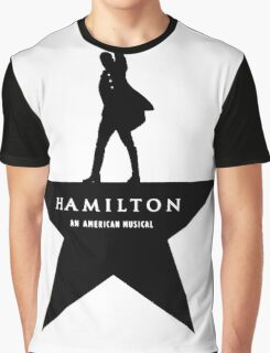 life & music t-shirt, Hamilton an American musical Graphic T-Shirt