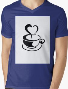 Cup of coffee Mens V-Neck T-Shirt