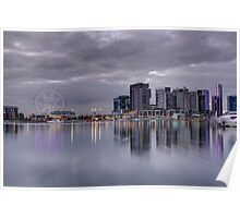 Docklands, Melbourne, Victoria Australia. Poster