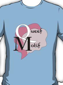Queef Motif T-Shirt