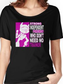 Strong Independent Pokemon Women's Relaxed Fit T-Shirt