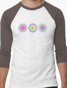 Psychedelic Summer Men's Baseball ¾ T-Shirt
