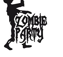 Zombie party drinking alcohol drinking celebration by Style-O-Mat