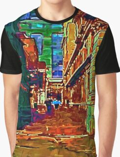 STREET SCENE 20D1,LONDON Graphic T-Shirt