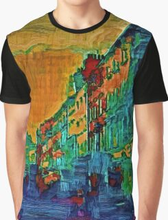 STREET SCENE 9D1,LONDON Graphic T-Shirt