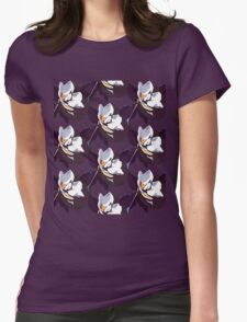 Blooming Magnolia Womens Fitted T-Shirt