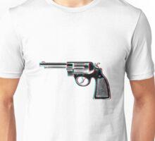 3D Revolver Unisex T-Shirt