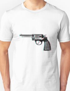 3D Revolver T-Shirt