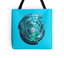 Blue/Aqua/Green Shield-t Tote Bag