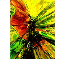Phoenix Rising Abstract Photographic Print