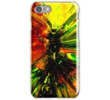 Phoenix Rising Abstract iPhone Case/Skin