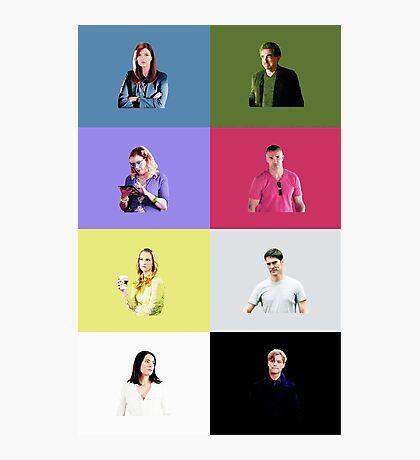 Criminal Minds Cast Print Photographic Print