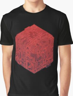 The Folly of Time and Space, Explained  Red Graphic T-Shirt