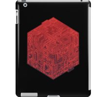 The Folly of Time and Space, Explained  Red iPad Case/Skin