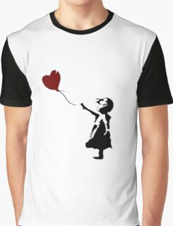 Bansky Fan Art Balloon Graphic T-Shirt