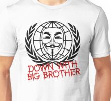 Down With Big Brother Unisex T-Shirt