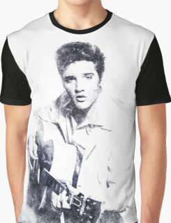 Elvis presley portrait 01 Graphic T-Shirt