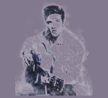 Elvis presley portrait 01 Kids Tee