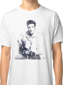 Elvis presley portrait 01 Classic T-Shirt