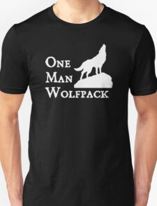 one man wolf pack Unisex T-Shirt