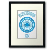 Fleetwood Wheel Framed Print