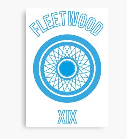 Fleetwood Wheel Canvas Print