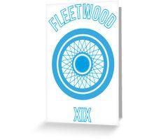 Fleetwood Wheel Greeting Card
