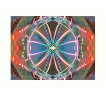 God Is Divine Abstraction #3 Art Print