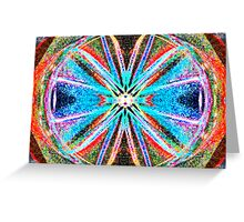 God Is Divine Abstraction #4 Greeting Card