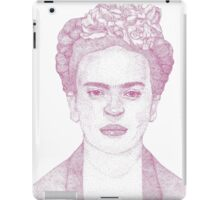 Frida Kahlo Dotwork Drawing iPad Case/Skin
