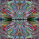God Is Divine Abstraction #6 by HeklaHekla