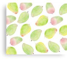 Patterns Everyday_ Mango Season Canvas Print