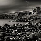 Stormy night in Ireland by woodnimages