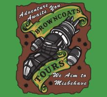 Browncoats Tours One Piece - Short Sleeve