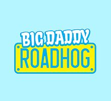 BIG DADDY ROADHOG with a licence plate for a biker by jazzydevil