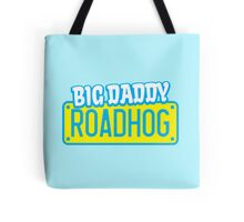 BIG DADDY ROADHOG with a licence plate for a biker Tote Bag