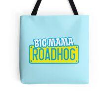 BIG MAMA Roadhog bike motorcycle lady rider Tote Bag