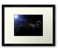 Mapping the Galaxy Framed Print