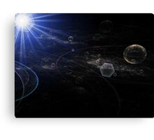 Mapping the Galaxy Canvas Print