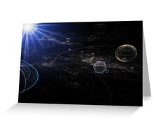 Mapping the Galaxy Greeting Card