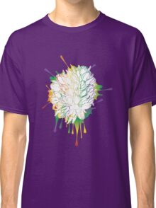 Tulips Grunge Sketch Colorful Classic T-Shirt