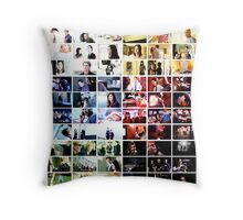 Criminal Minds Colour Print Throw Pillow